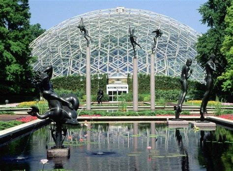 Botanic Garden St Louis Climatron Botanical Gardens St Louis Missouri Background Wallpapers