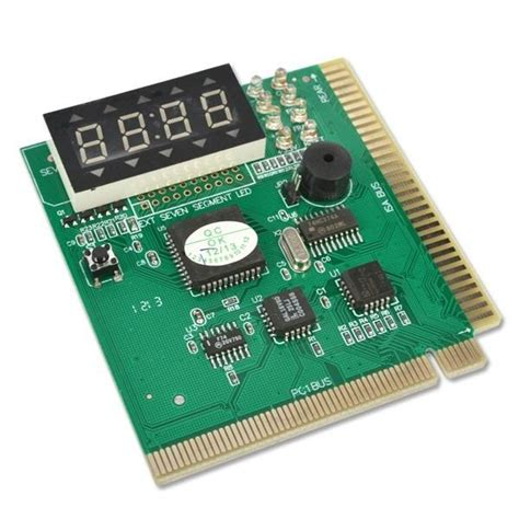 Pc Analizer Slot Pci For Pc 2 Digit Display i isa card analyzer motherboard board tester diagnostic card 4 digit display for pc