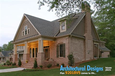 narrow lot cottage house plan 9818sw architectural architectural designs house plan 921018vs narrow lot