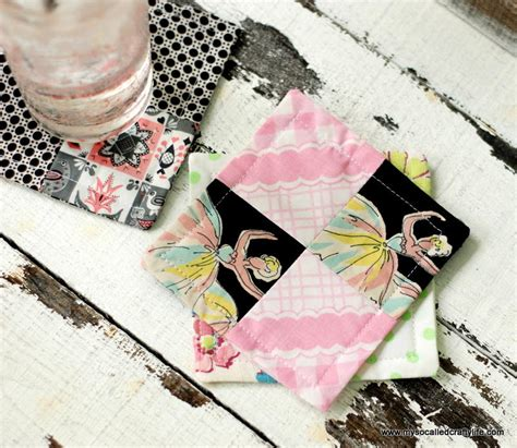 Shure Classic Handmade Quality - diy patchwork patchwork diy coasters allfreesewing