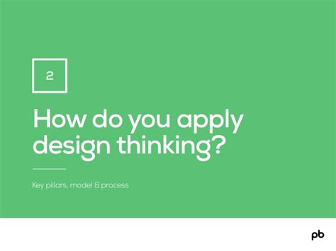 design thinking understand improve apply how do you apply design