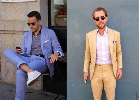men s office colors guide to wearing the perfect summer suit