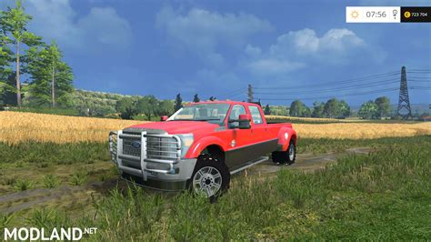 2015 ford f 450 platinum ford f 450 platinum v9 mod for farming simulator 2015 15