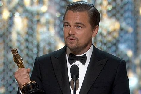 Oscars And Leo by Leo Earned His Oscar For The Revenant And He Might Be