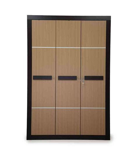 Nilkamal Wardrobe Purchase nilkamal cedar 3 door wardrobe buy at best price