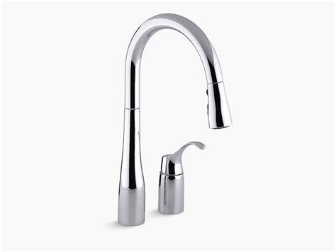 moen vs kohler kohler simplice kitchen faucet r648 vs wow