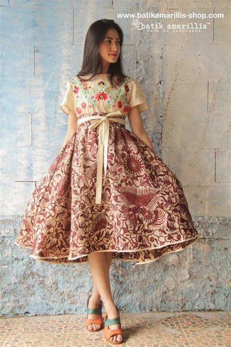 Dress Batik Modern Cut Batik Dress Batik Murah Kantor Cewe 43 best batik amarillis s dress images on