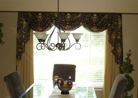 Formal Dining Room Window Treatments Formal Dining Room Window Treatments