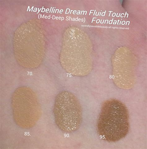 Maybelline Liquid Powder Shade Honey maybelline fluid touch foundation review