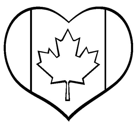 Coloring Pages I Love Canada | i love canada coloring book