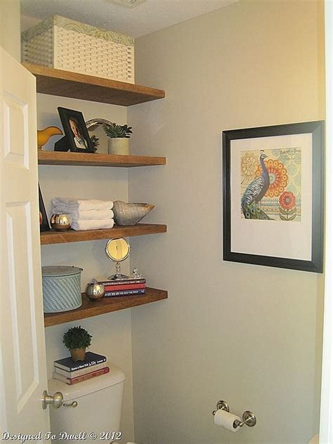 diy floating bathroom shelves arts and crafts