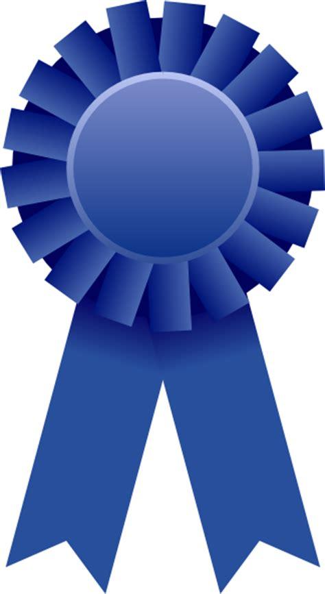 blue ribbon blue ribbon clip at clker vector clip