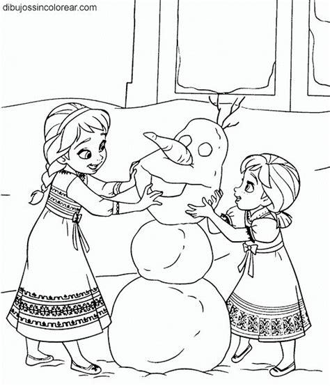 dibujos para pintar frozen disney dibujos sin colorear dibujos de personajes de frozen