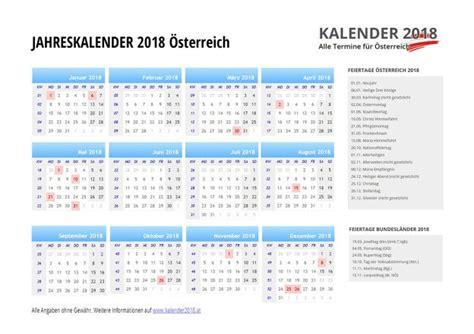 Kalender 2018 Steiermark Kalender 2018 214 Sterreich Feiertage Ferien Kw