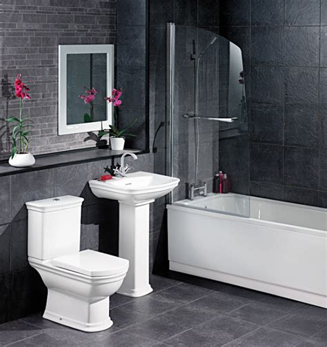 black and gray bathroom ideas white and black bathroom decorating ideas 2017