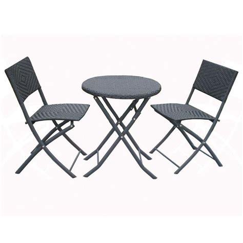 salon de jardin avec table ronde ensemble table ronde en m 233 tal avec deux chaises achat vente salon de jardin ensemble table