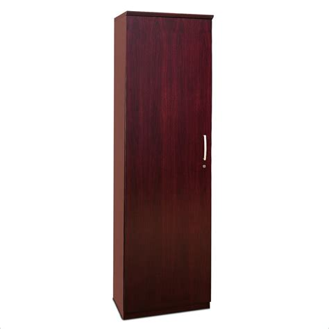 Wardrobe Hinges by Napoli Wardrobe Cabinet With Left Hinges In Mahogany