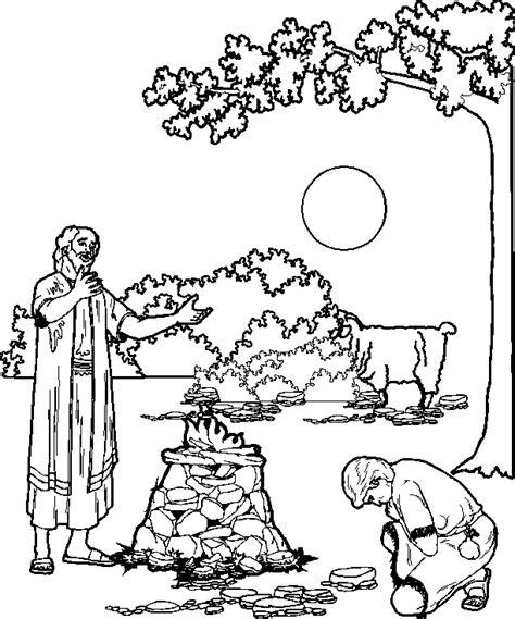 imagenes biblicas en blanco y negro abraham con isaac dibujos biblicos cristianos