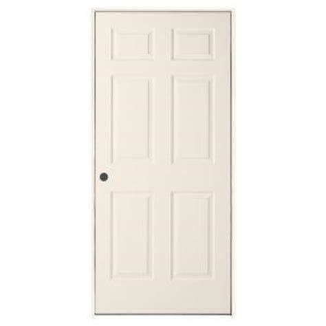 Home Depot 6 Panel Interior Door Jeld Wen 30 In X 80 In Woodgrain 6 Panel Primed Molded Composite Single Prehung Interior Door