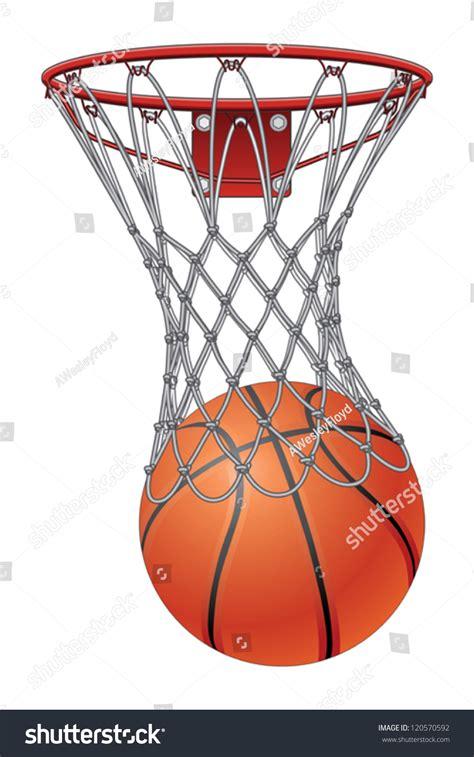 basketball net clipart basketball going through net clipart clipartxtras