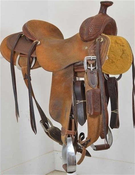 Handmade Saddles For Sale - used 15 5 quot jeff smith custom saddles ranch saddle