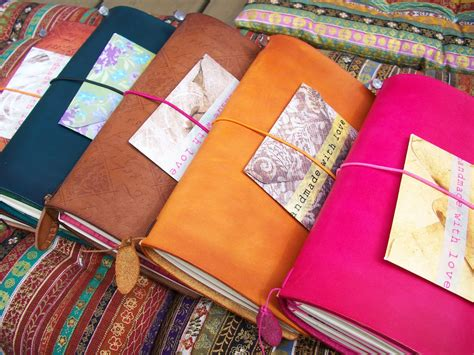 Diy Travelers Notebook Leather Cover Classic Reguler le fae s trinkets midori tn free inserts