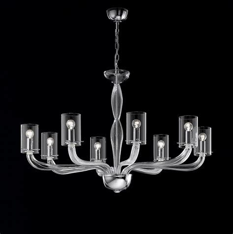kronleuchter modern glas clear glass modern contemporary murano chandelier