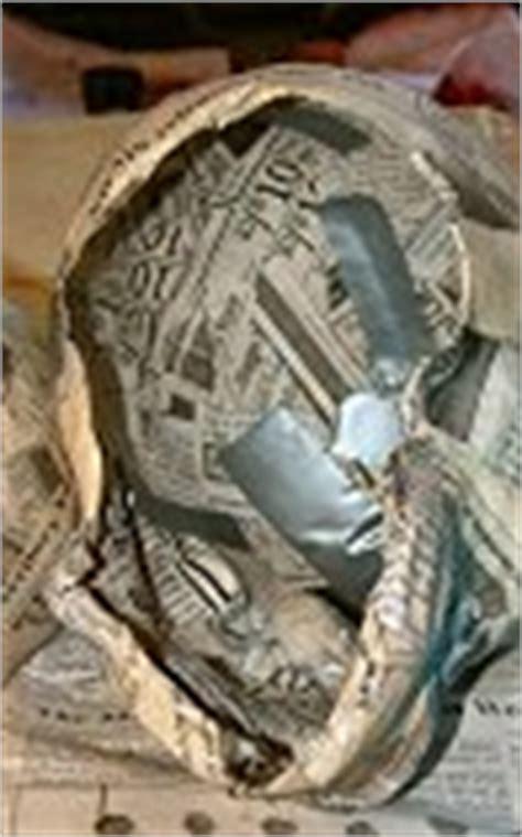 How To Make Paper Mache Skull - paper mache skulls spookyblue