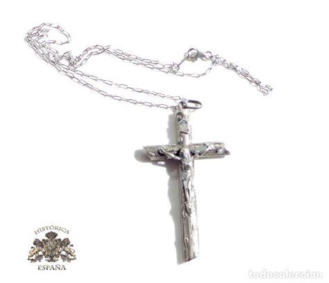cadenas de plata religiosas cruz y cadena de plata 7 5 x 3 8 cm comprar crucifijos