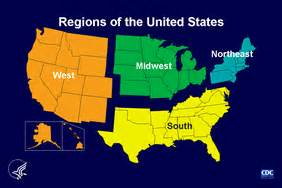 us map divided into 3 regions pems homework social studies 8