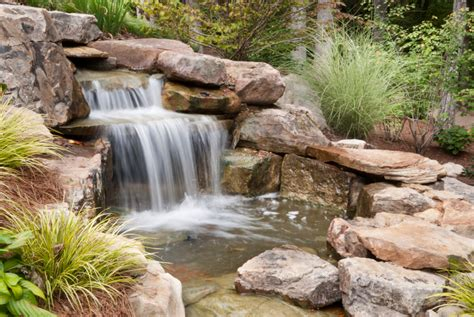 outdoor water feature backyard water feature