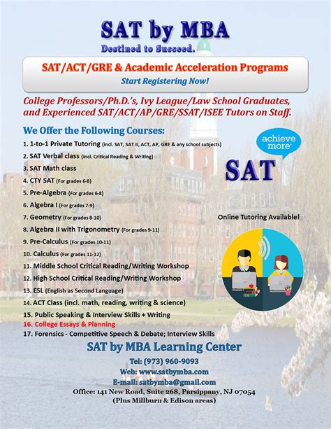 Mba Act by Sat By Mba