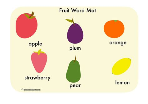 Word Mat by Free Teaching Resources Eyfs Ks1 Ks2 Primary Teachers