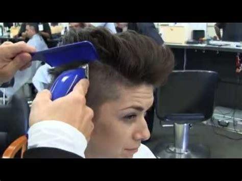hair cut vidios women women s short shaved haircut videos youtube