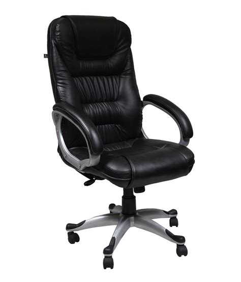 high back office chair in black buy at best price