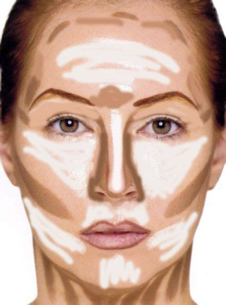 ombré cheeks contouring ed highlighting in ombra i difetti dai luce