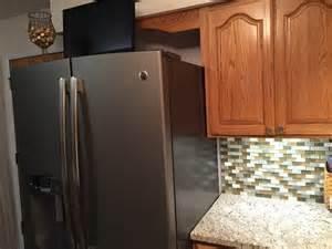 Where To Buy Kitchen Backsplash by Backsplash Fridge
