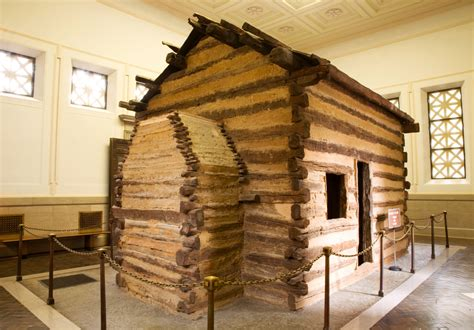 Lincoln Cabin Kentucky by Where Was Abraham Lincoln Born Wonderopolis