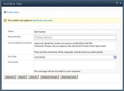 sharepoint 2010 workflow approval improve document approvals with sharepoint workflows