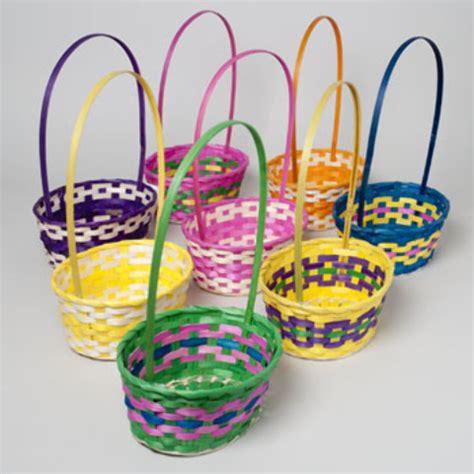 easter baskets cheap wholesale oval easter basket sku 1940099 dollardays