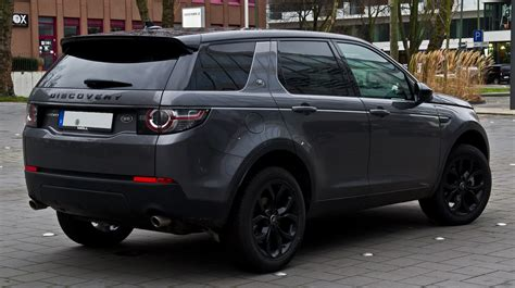 land rover discovery 4 2016 file land rover discovery sport td4 hse black paket