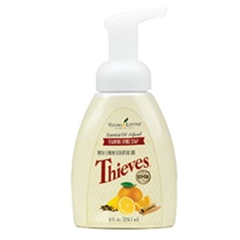 Thieves Cleansing Bar Soap thieves foaming soap living essential oils