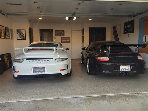 porsche garage art dream garage for my gt3 and gt3rs almost done rennlist