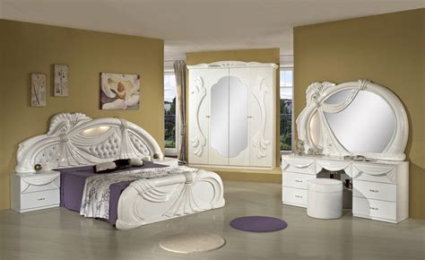 italian white bedroom furniture gina white italian classic bedroom set made in italy