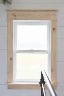 Trim Around Windows Inspiration Modern Window Trim Styles Did Best Free Home Design Idea Inspiration
