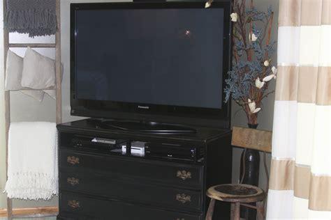 Dresser Into Entertainment Center by Repurpose An Dresser Into An Entertainment Center With