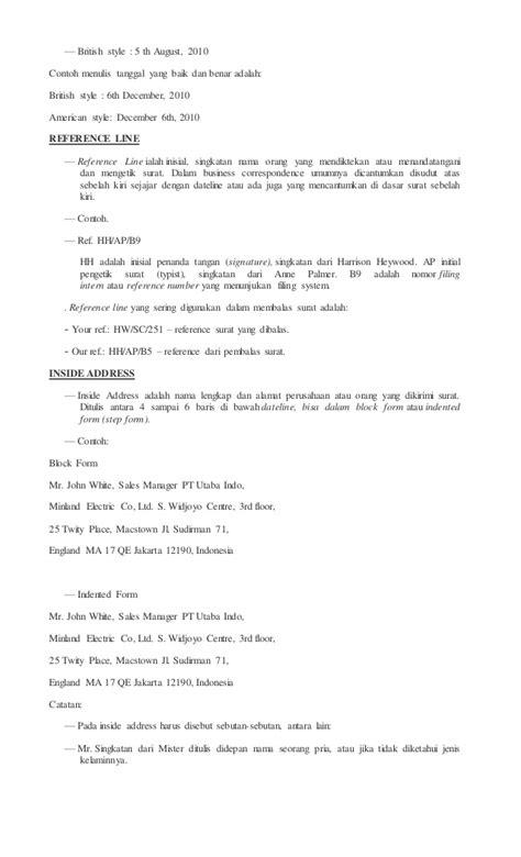 email dalam bahasa indonesia materi korespondensi bahasa inggris
