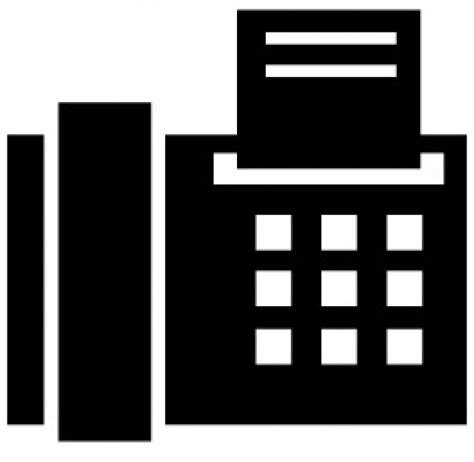 fax per ufficio ufficio simbolo fax scaricare icone gratis