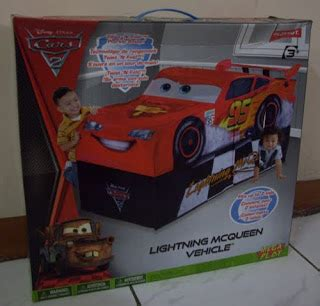 Terlaris Mainan Anak My Cars Team Lightning Mc 95 my baby world disney pixar cars 2 lightening mcqueen tent cars tent tenda cars