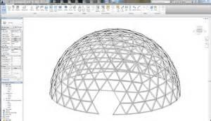 geodesic dome framing model renderings ashelford design